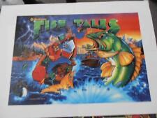Fishtales Pinball Translite Mr Pinball Sales, Importer & Print Master