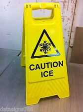 Caution Ice (Health And Safety Sign)