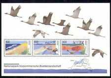 Germany 1996 Park/Birds/Nature/Map/Wildlife m/s  n28070