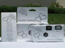 10 Happy Hearts Disposable Wedding Cameras