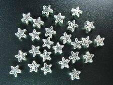 500 PCS Tibetan Silver tiny star spacer beads 4mm FC218