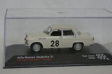Ixo Presse 1/43 - Alfa Romeo Giulia TI Tour Auto 1958