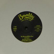 """JONATHAN RICHMAN & THE MODERN LOVERS 'THE MORNING OF OUR LIVES' UK 7"""" SINGLE"""