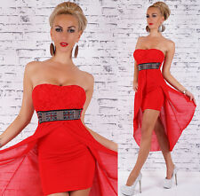 Sexy Cocktail Asymmetric Prom Short Mini Dress size 8 10 Party Evening Wedding