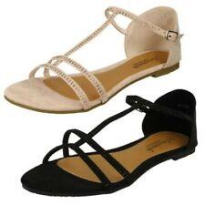 Ladies Savannah 'T-Bar Sandals'