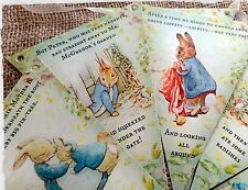 3m Peter Rabbit & Beatrix Potter Characters Bunting/Banner with Ribbon