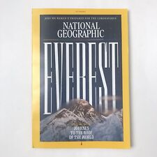 National Geographic Magazine July 2020 Journey To The Roof of the World EVEREST