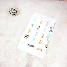 Baby Letter Milestone For Blankets Photography Photo Props Stylish Fox Blanket