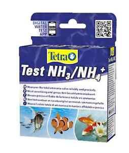 Tetra Ammonia NH3/NH4 Test Kit Freshwater Marine Pond Aquarium Fish