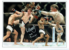 Brad One Punch PICKETT Signed Autograph Cage Fighter 16x12 Montage Photo AFTAL