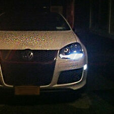 *VW Golf MK5 V TDI GTI TSI Xenon ICE WHITE 8 SMD Side Light LED Bulbs-ERROR FREE