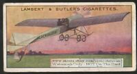 Robert Blackburn Monoplane  Avaiton History 100+ Y/O  Trade Ad Card