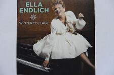 """Ella Endlich   Wintercollage   5"""" Promo Maxi - CD   2012   6 Tracks   super rar!"""