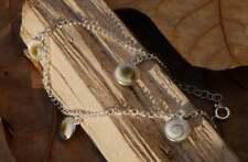 Shiva Eye Charm Bracelet Shell Fine Sterling Silver New Jewellery 18-20cm