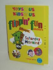 DISNEY TOYS & KIDS R US STORE FLIPPIN' FUN SATURDAY CARTOON STICKERS RECESS GUS