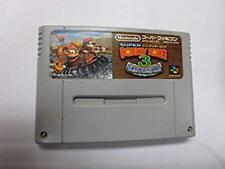 SUPER DONKEY KONG 3 SNES SFC Nintendo Super Famicom Game Japan Used