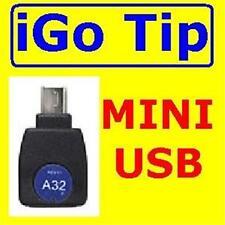 NUOVO A32 iGo Punta per Motorola/Garmin/BLACKBERRY/ MINI Dispositivi USB/