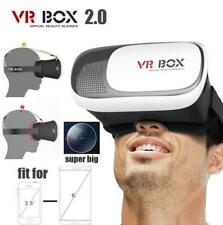 3D TV Virtual Reality VR BOX Glasses For ios/Android iPhone X 8 7 Samsung S8 S7