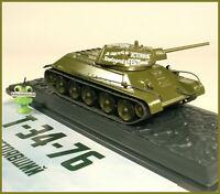 1:43 Panzer T-34-76 1942 diecast russian Modimo tanks №10 URSS USSR UdSSR DDR