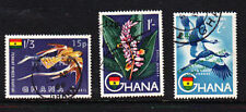 Ghana 1965 New Currency Overprints Used