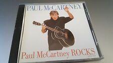 "PAUL MCCARTNEY ""ROCKS"" RARE PROMO US CD"