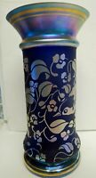 "Fenton Favrene "" At Woodlands Edge "" vase in Memorial of Don Fenton 1951-2003"