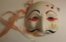 VINTAGE COSTUME MASK, USED COOL!! Marked Firenze