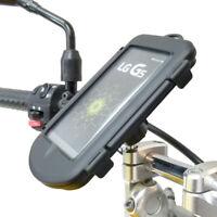 Imperméable Moto Vélo M8 de Serrage Supérieur Support Guidon Support Pour LG G5
