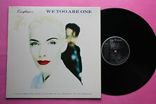 LP 33T / EURYTHMICS / WE TOO ARE ONE / PL74251 / EX