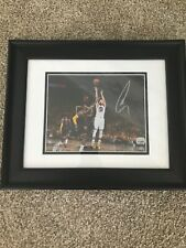 STEPHEN CURRY Autographed Signed Framed Photo Fanatics 8x10