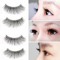 False Eyelashes Natural Eye Lashes Extension Handmade Pcs/5-Pairs 10 S9Q1