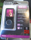 MIB COBY VIDEO MP3 PLAYER 8 GB 24 hrs of video 4000 songs MP620-8G