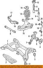 AUDI OEM 02-09 A4 Quattro Rear Suspension-Spring Plate 8E0512149P