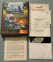 Sky Runner - 1986 Commodore 64 Spinnaker UBX Computer Video Game COMPLETE in Box