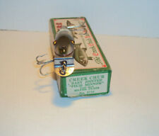 Vintage Creek Chub 2718 Baby Jointed Pikie end label box