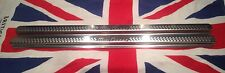 A Pair of Classic Austin Morris Mini Cooper Stainless Steel Door Step Covers