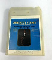 8 TRACK  JOHNNY CASH AND THE TENNESSEE TWO ORIGINAL GOLDEN HITS VOLUME 3 Tested