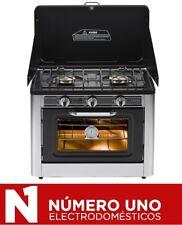 Cocina a Gas de Jocel CS-02, para camping, 2 fuegos
