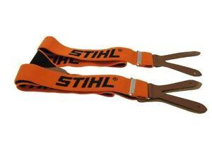 Stihl Genuine 0000 884 1511 120cm Braces Buttons - Orange