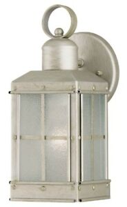 Westinghouse Pewter Patina Finish With Ice Glass Panels 69610 (CP1)