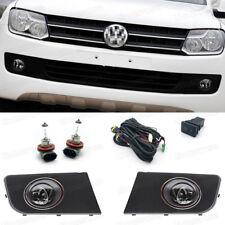 55W Fog Lights Driving Lamps Cover Grille for Volkswagen Amarok 2011 12 13 14 15