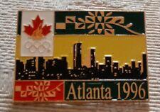 1996 Canada Atlanta Olympic NOC Pin City