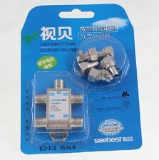 4 Way 5-1000 MHz 1 to 4 Coaxial Splitter for  Coax Cable HDTV Satellite