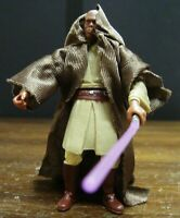 STAR WARS MACE WINDU FROM ATTACK BATTALION EXCLUSIVE CLONE 100% COMPLETE