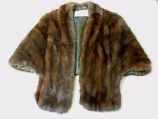 New listing Vintage Britts ~ Brown Mink? Fur Stole