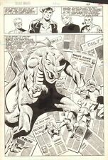 Suicide Squad #14 p.19 - Team Action vs. Monster Splash - 1988 by Luke McDonnell
