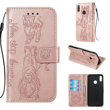 For Huawei Xiaomi LG Motorola Phone Case Book Folio 3D Leather Flip Cover Stand