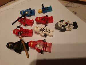 Lego Ninjago Minifigures x 9