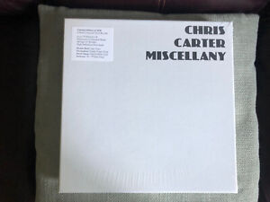 Chris Carter Miscellany Sealed Vinyl Box / Throbbing Gristle / Cosey / Mute /