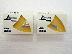 2 NOS Astatic SE100-1d Jukebox Needles Seeburg M100 B C G W R J JL V-200 VL-200